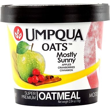 Umpqua Oats™ All Natural Oatmeal/Mostly Sunny, Dried Fruits from the Northwest, 2.6 oz.