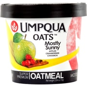 Umpqua Oats All Natural Oatmeal/Mostly Sunny, Dried Fruits from the Northwest, 2.6 oz., 12/Pack