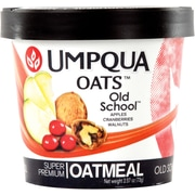 Umpqua Oats All Natural Oatmeal/Old School, 2.8 oz., 12/Pack
