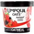Umpqua Oats Jackpot All Natural Oatmeal, Raspberries, Strawberries, Blackberries & Pecans, 2.6 oz., 12/Pack