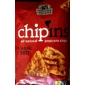 Popcorn Indiana All Natural Classic BBQ chipins Popcorn Chips, 7.25 oz., 6/Pack