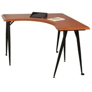 Balt L-Flex Corner Table, Cherry