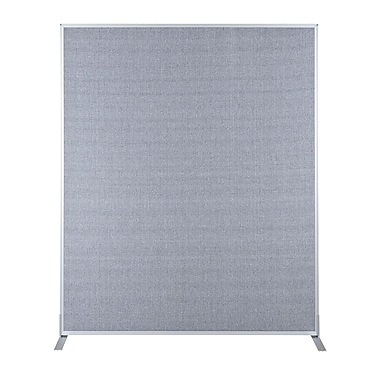 Best-Rite Fabric Standard Modular Panel, 5' x 3', Gray