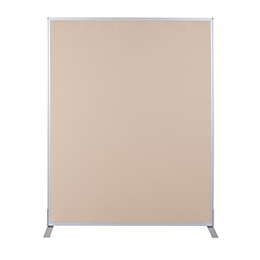 Best-Rite Fabric Standard Modular Panel, 5' x 5', Nutmeg