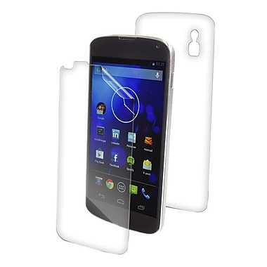 Zagg® invisible Shield Fully Body Screen Protector, Clear, For LG Nexus 4 E960