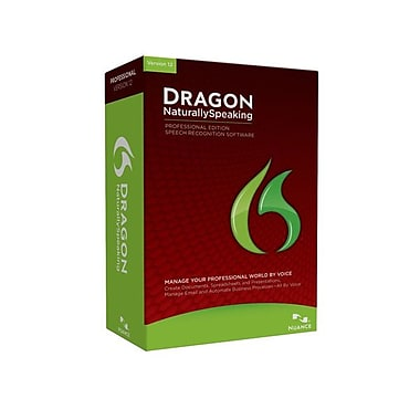 Nuance® Dragon NaturallySpeaking Professional Edition Software For Windows