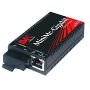 B&B Electronics 855-10731 MiniMc-Gigabit 1000Mbps Twisted Pair to Fiber Media Converter