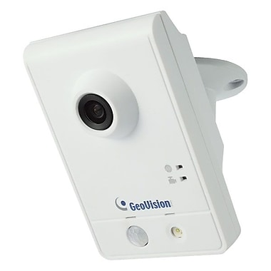 GeoVision GV-CAW220 2MP H.264 WDR Wireless Advanced Cube IP Camera, 1/2 1/2in. CMOS