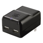 Scosche® revolt h2 10W 2 Port USB Wall Charger For iPad