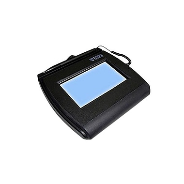 Topaz® SignatureGem® LCD 4x3 T-LBK755SE-BHSB-R Dual Serial USB/ Backlit Higher Speed Edition (SE) Electronic Signature Pad