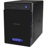 NETGEAR® 300 ReadyNAS 314 4-Bay Network Attached Storage Desktop Drive, 8TB, 110 - 220 VAC