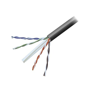 Belkin A7L704-1000-BLK 1000' CAT-6 Bulk Cable, Black