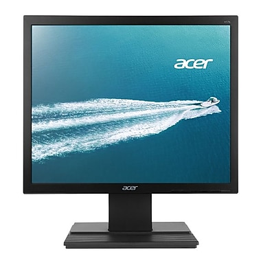 Acer® V176L 17in. LED Back-lit LCD Monitor, Black