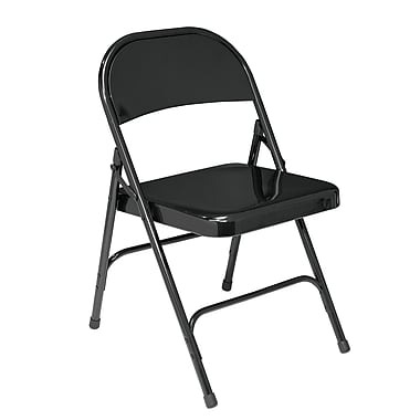 NPS 510 Steel Folding Chair, Black
