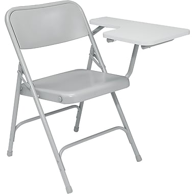 National Public Seating 5202L Steel Folding Chair, Gray