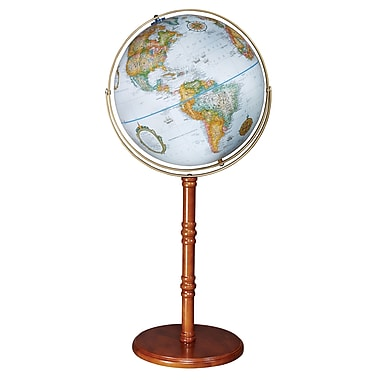 Replogle 16in. Edinburgh II Floor World Globe, Blue Ocean