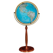 "Replogle 16"" National Geographic Chamberlin Illuminated Globe, Blue Ocean"