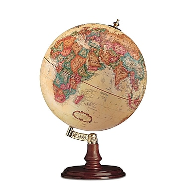 Replogle 12in. Cranbrook World Globe, Antique Ocean