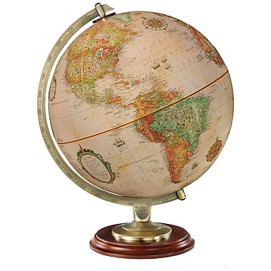Replogle 12in. Kingston World Globe, Antique Ocean