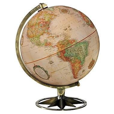 Replogle 12in. Compass Rose Globe, Antique Ocean