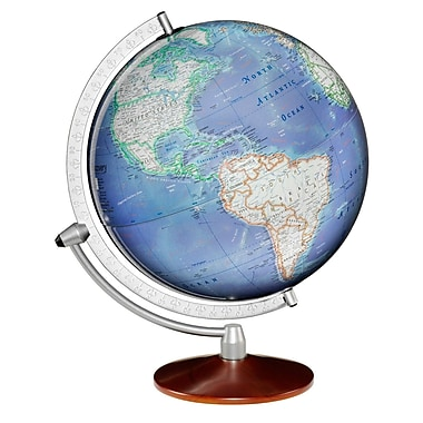 Replogle 12in. Discovery Expedition Matterhorn Globe, Blue Ocean