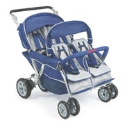 Angeles® SureStop® Folding Commercial Bye-Bye® 4-Passenger Stroller