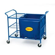 Angeles® Steel Ball Cart, 34 3/4(H) x 45 1/4(W) x 25(D)