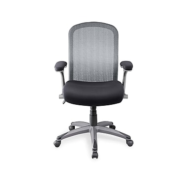Whalen Mesh Manager's Chair, Fixed Arm, Black