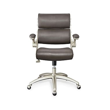 Whalen® Steele Leather Modern Managers Chair