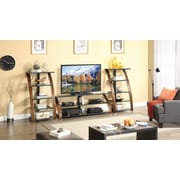 "Whalen® 48"" Audio/Video Tower With 5 Shelf, Brown Cherry"