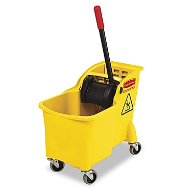 Rubbermaid Commercial® Tandem™ Bucket and Wringer Combo, 31 qt.