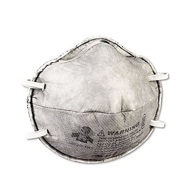 3M™ 8247 R95 Particulate Respirator With Nuisance Level Organic Vapor Relief, Standard, 20/Pack