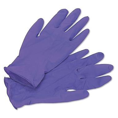 Kimberly-Clark Professional Sterling KCC 55082 Medium Nitrile Exam Gloves 100/Pack, Purple
