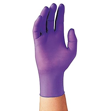Kimberly-Clark Professional® Sterling® Nitrile Exam Gloves, Purple, Large, 100/Pack