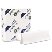 "Georgia-Pacific 9.2"" x 9.4"" Multi-Fold Hand Towel, White, 250/Pack x 16 Packs/Case"