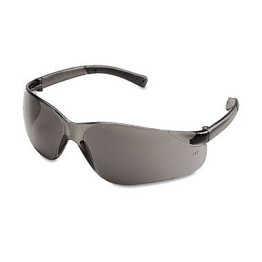 MCR Safety BearKat® Non Slip Temple Sleeve Safety Glasses, Gray Lens