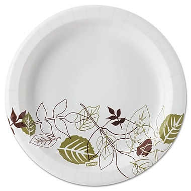 Dixie® Pathways 8 1/2in. Mediumweight Paper Plates, 600/Carton