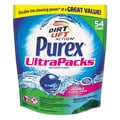 Purex® Ultrapacks Liquid Laundry Detergent, 21.6 fl oz., Mountain Breeze, 54 Packs/Bag,  4 Bags/Case