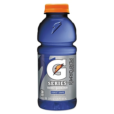 Gatorade® G Series 24/Pack 20 oz. Wide Mouth Bottle Ready To Drink Thirst Quenchers