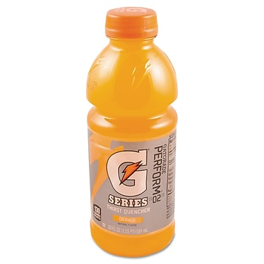 Gatorade® Sports Drink Mix,  Orange, 20 oz. Wide Mouth Bottle, 24/Pack