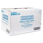 Boardwalk® Embossed 2Ply 4 x 3 Toilet Tissue, White, 96/Pack
