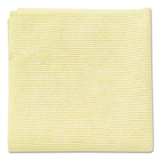 Rubbermaid Commercial® 16x16 Microfiber Cleaning Cloths, Yellow, 24/Pack
