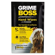 Nice Pak® Grime Boss Heavy Duty Hand Cleaning Wipes, 60/Pack