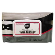 Nice Pak® Table Turners No-Rinse Sanitizing Wipes, White, 900/Pack