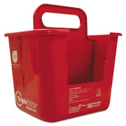 Nice Pak® Triple Take Table Turners Wipes Dispenser, Red