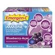 Emergen-C® Immune+® Dietary Supplement Flavoured Fizzy Drink Mix, Blueberry/Acai  0.3oz., 30 Packets