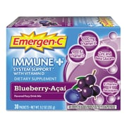 Emergen-C Vitamin C Drink Mix, Blueberry-Acai, 0.3 oz., 30 Packets/Box