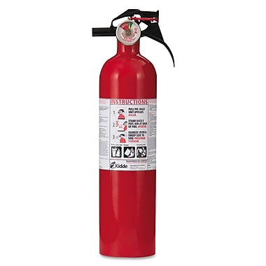 Kidde Pro Series Multi-Purpose Home Fire Extinguisher, ABC Type, 100 psi