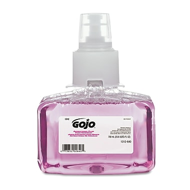GOJO® LTX-7™ Antibacterial Foam Handwash Refill, Plum, Transparent Purple