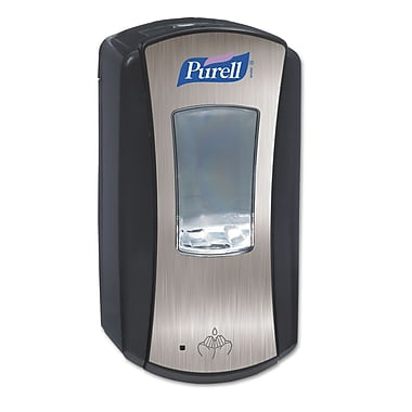 GOJO® PURELL® LTX-12™ Dispenser, Chrome/Black